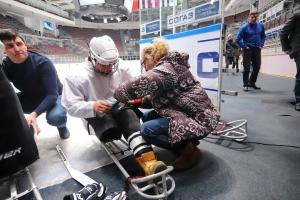 """11.12.2018. Тренировка по следж-хоккею на """"Фетисов-Арене"""""""
